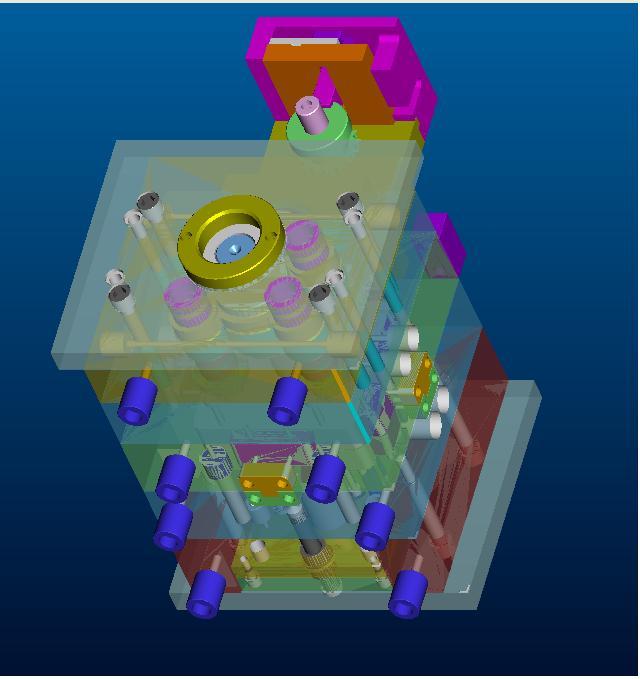 3D Mold Assembly